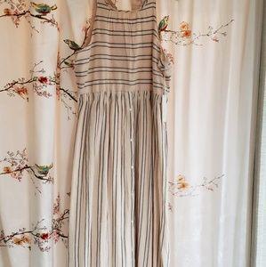 Lauren conrad maxi dress size large